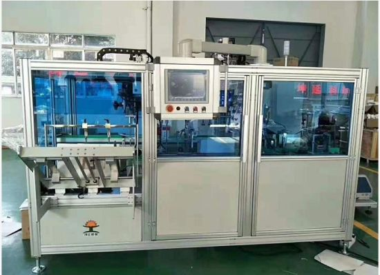 Carton Packer Operating Used in Tin Can Packing Machine for Food Business
