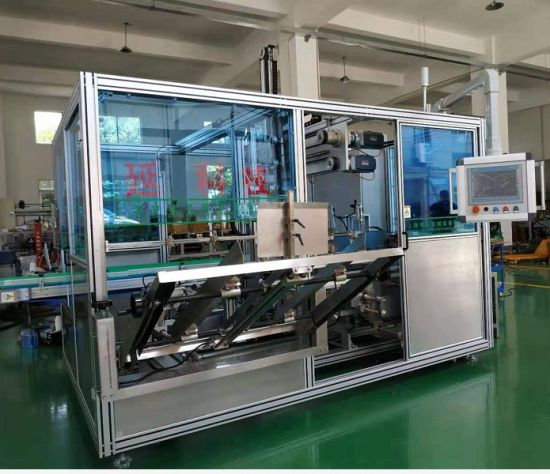 Automatic Rocker Arm Case Packer/ Robot Carton Packing and Sealing Machine for Bottles