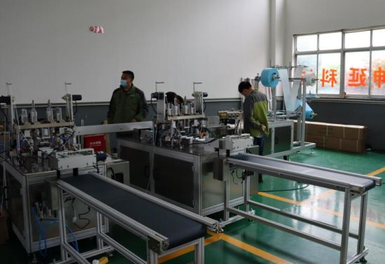 Automatic Welding Ear Loop Face Mask Making Machine